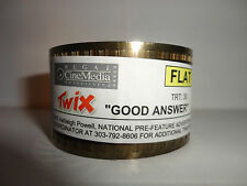 "TWIX ""GOOD ANSWER""    35mm theater ad for show 30 second commercial FLAT"