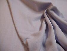 Tissu à sweat en molleton parme 50 cms * 170 cms NEUF