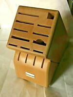 Wusthof Hardwood Knife Block 15-slot