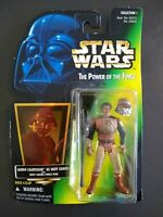 Star Wars Power of the Force Lando Calrissian as Skiff Guard Figure Kenner 1996