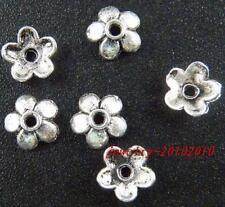 300 Tibetan Silver Filigree Bead Caps Findings 7x2mm 1225