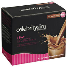 Celebrity slim 7 Jours CHOCOLAT Secouer (14 x 55g sachets shaker)