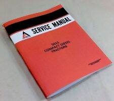 ALLIS CHALMERS AC 5015 COMPACT DIESEL TRACTORS SERVICE SHOP REPAIR MANUAL BOOK