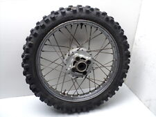 #4005 Honda XL175 XL 175 Rear Chrome Wheel & Tire