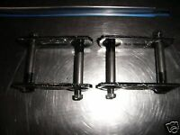 FORD FALCON REAR LEAF SPRING STEEL SHACKLES .. PAIR NEW