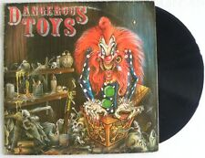 DANGEROUS TOYS  LP MADE IN BRAZIL 1989 MOTLEY CRUE KISS POISON SKID ROW ####