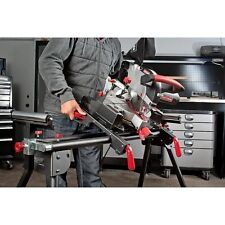 Craftsman Universal Miter Saw Stand Adjustable Steel Rollers Wood Bench Metal