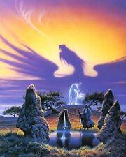 Merlin Fantasy - Lady of the Lake: Arthurian Legend - Art Print,  8x10 In.
