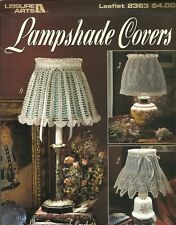 Lampshade Covers Eunice Svinicki Crochet Instruction Pattern Book LA2363 1993