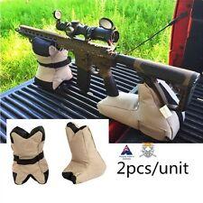 Portable Gun Rifle Shooting Rest Bag Set DeadShot Front Rear Rifle Tactical