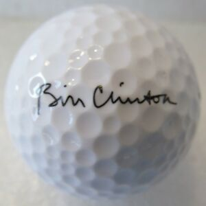 OFFICIAL BILL CLINTON PRESIDENTIAL GOLF  BALL-MINT-WHITE HOUSE ISSUED