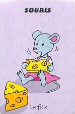 SOURIS MOUSE Hausmaus PLAYING CARD CARTE A JOUER 2