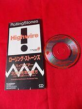 "Rolling Stones HIGHWIRE / 3"" JAPAN SINGLE CD JAPANESE - UK Despatch"