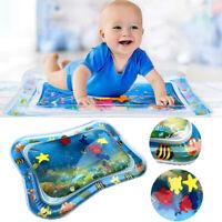 Kids Water Mat Baby Infants Inflatable Toddlers Wet Mattress Splash Play Cushion