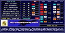 RAPID-FORECAST Greyhound Forecast Racing System