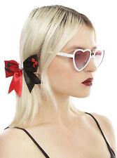 Harley Quinn Sunglasses White Metal Heart Frame DC Comics Suicide Squad Batman