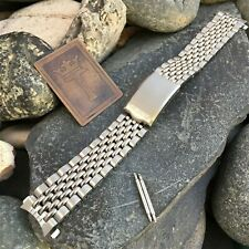 18mm Beads of Rice Seiko Japan Stainless Steel Premium nos Vintage Watch Band
