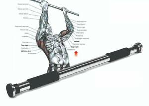 Vector X Pull Up Gym Bar Adjustable 74-98 cm Upper Body Exercise Equipment Home