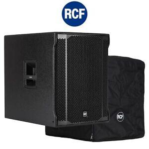 "Bundle RCF Sub 8003-AS II Digitaler Aktiver Bass 18"" 2200Watt DSP inkl. Cover"