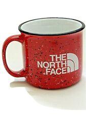 The North Face Red Coffee Mug Ceramic Mug Speckle Finish Rare!