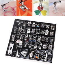 42 Domestic Sewing Machine Presser Foot Feet Low Shank for Brother Singer Janome