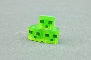 """Minecraft - Slime Cube - Mattel Mini Figure 1"""" Mojang"""
