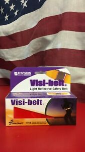 Skilcraft Visi-belt Reflective Safety Belt- Red