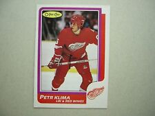 1986/87 O-PEE-CHEE NHL HOCKEY CARD #98 PETR KLIMA ROOKIE NM SHARP!! 86/87 OPC
