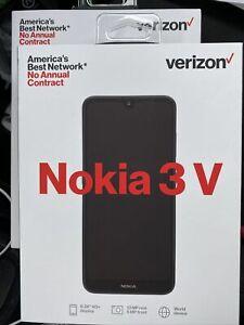 2- Verizon Prepaid Nokia 3 V 16GB Blue Smartphone Model#TA-1153 Free Shipping