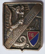 18° Régiment de Dragons 1939 Cavalerie insigne authentique  WWII France 1940