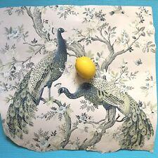 Laura Ashley Belvedere Midnight Wallpaper, W/Peacocks. Price Per Roll, **2**LEFT
