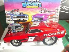 Action 05 Muscle Machines 1:18 Kasey Kahne 1969 Dodge Charger 69 ARC Limited 552