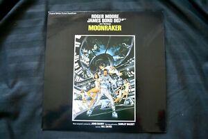 Vinyl 12 inch Record Album Movie Soundtrack James Bond Moonraker 1979
