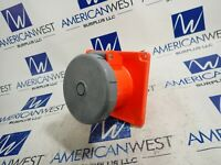 Hubbell HBL4100R12W  100 amp 250 volt Receptacle  3R 4X 12  USED