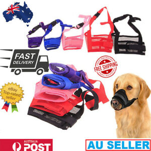 Dog Muzzle Pet comfort Dog Mouth Cover for reducing Barking Biting Chewing Mask