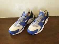 Air Huarache Mens Comet Blue/Silver Running Shoes Sz.11
