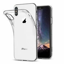 For iPhone X Case Clear Silicone Slim Gel Cover & Stylus Pen