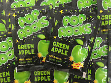 Pop Rocks Green Apple 24 COUNT Classic Popping Candy FREE SHIPPING