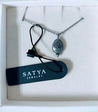 Satya Jewelry 925 Sterling Silver Tree Of Life Necklace