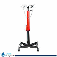 1200 LB 2 Stage Hydraulic Transmission Jack w/ 360° Swivel Wheels Lift Hoist
