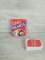 Vintage 1994 Uno Hearts Card Game Complete with Instructions Mattel & Lots More