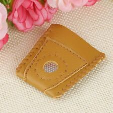 2x Large Size Leather Thimble Sewing Quilting Leather Craft Finger Protector New