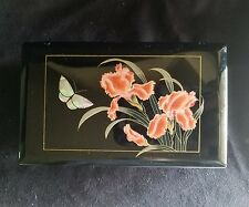 Music jewelry Box The san Francisco Music  Box Co. holographic buterfly