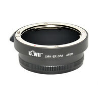 Adaptateur Bague Objectif Nikon Nikkor F AI vers Boitier Photo Canon EOS