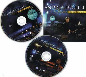 Andrea Bocelli - Vivere - Live In Tuscany (CD & DVD) (2008)