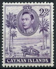 Mint Hinged Postage Cayman Islands Stamps