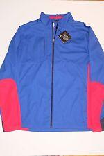 $198 NWT AUTHENTIC RLX Ralph Lauren Golf Long Sleeve Jacket, XL Blue/Red