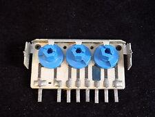RCA 3 Bank Potentiometer 30K 12K 2M RCA 973964-5 bracket mount 134 6520L
