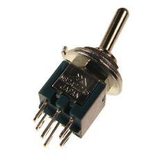 MIYAMA MS245 Kippschalter 2-polig EIN-EIN Schalter 2xUM 3A 125V AC 005683