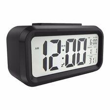 """Reloj Despertador 5.3"""" LED Digital clara visualización de Escritorio de viajes-fecha/repetición de alarma/luz"""